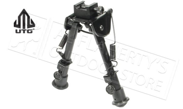 "UTG Tactical OP Bipod, Rubber Feet, Center Height 6.1""-7.9"" #TL-BP78"