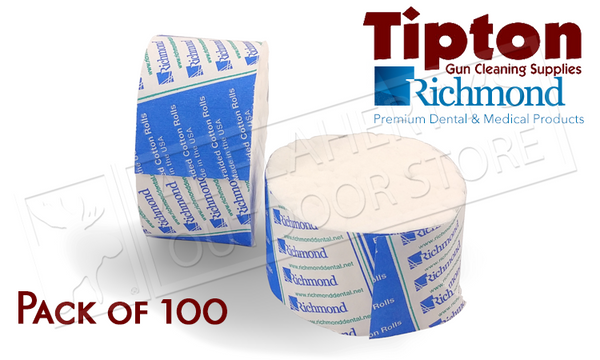 Tipton Action Cleaning Swabs Pack of 100 #115373