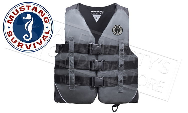 Mustang Survival Nylon Water Sport Floatation Vest M-2XL #MV1273