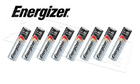 Energizer MAX AA Batteries - Pack of 8 #E91BP8
