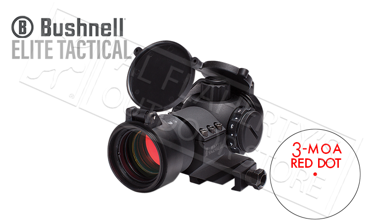 Bushnell Elite Tactical CQTS Red Dot 1x32mm 3 MOA #ET1x32