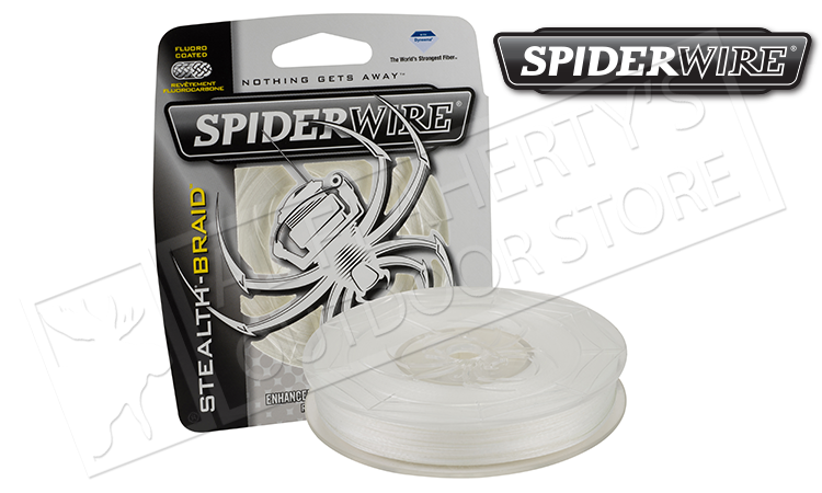SpiderWire Stealth Translucent Braided Line, 200 Yard Spools #SCSxxT-200