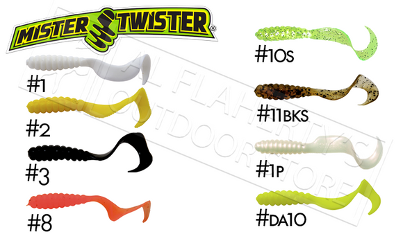Mister Twister Twister Tail, Packs of 10 #4T10