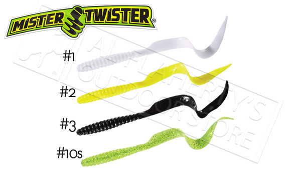 "Mister Twister Twister Tail, 6"" Packs of 10 #6T10"
