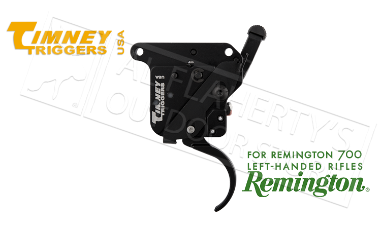 Timney Triggers Remington 700 Left Hand Adjustable  Trigger with Safety #511