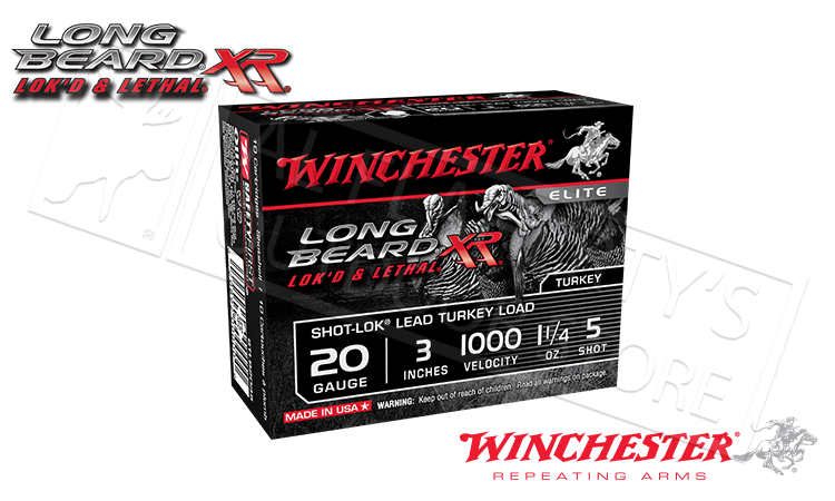 Winchester 20 Gauge Long Beard XR Turkey Shells
