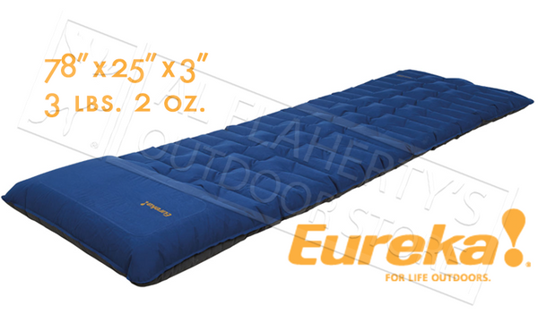 "Eureka Super Cush Air Mattress with Built in Pump - 78"" Length #2632026"