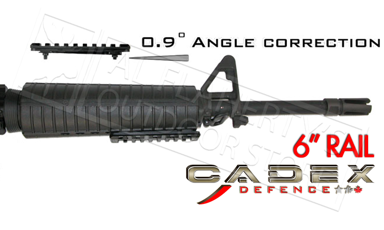"Cadex Carbine Picatinny Rail, 6"" #CMR-418-02"