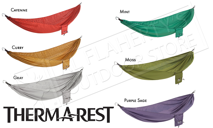 Therm-A-Rest Slacker Hammock, Single Various Colours #0962