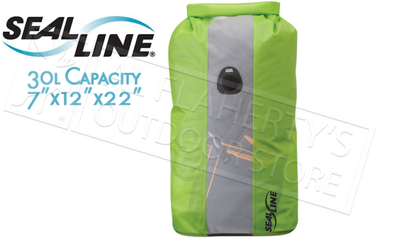 SealLine Bulkhead View Dry Bag, 30L with PurgeAir #0968