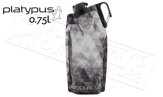 Platypus Duolock Softbottle, Grey Prism Pattern .75L #35864