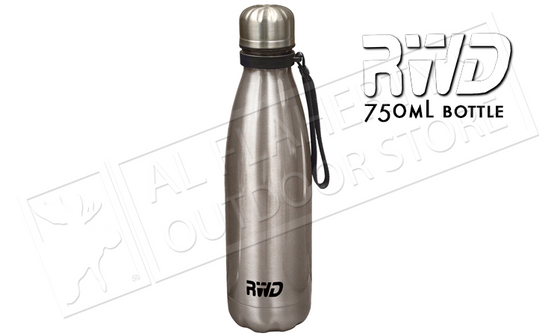 RWD Classic Bottle, 750mL Silver #1426