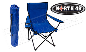 North 49 Folding Chair, Blue #5203