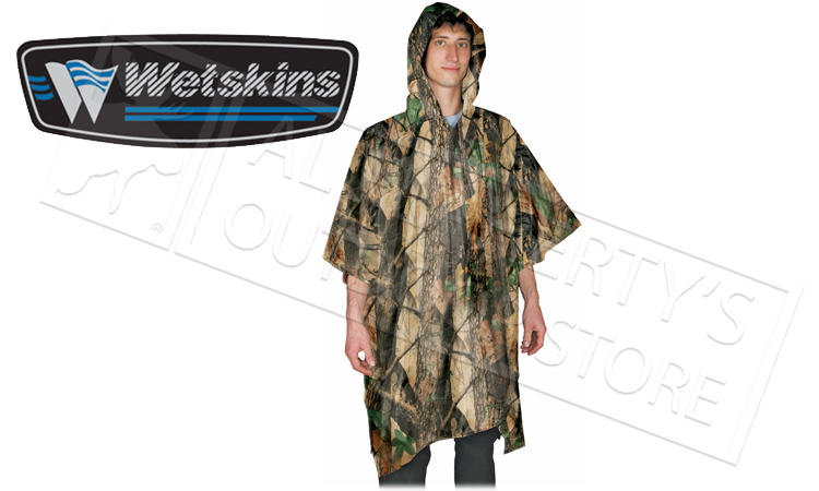 Wetskins Stormfront Poncho in Camo #6104