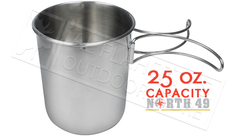 North 49 Stainless Steel Pot-Cup, 25oz / 739mL #693