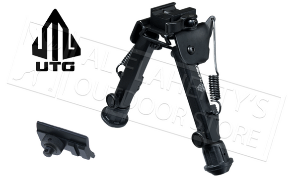 "UTG Super Duty Bi-Pod with QD Lever Mount, 6"" to 8.5"" Adjustable #TL-BP98Q"