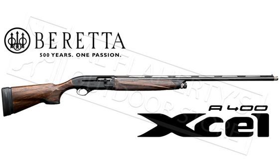 "Beretta A400 Xcel Black Edition Sporting Shotgun, 12g 3"" Chamber 30"" Barrel"