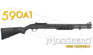 Mossberg 590A1 Shotgun 9-Shot with XS Ghost Ring Sights, 12G #51771