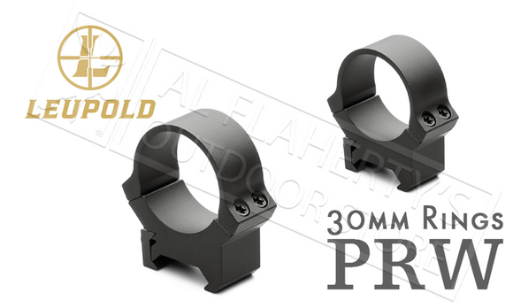 Leupold PRW Scope Rings - 30mm High Height Blued #54177