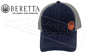 Beretta Trident Trucker Hat in Navy #BC072016600523
