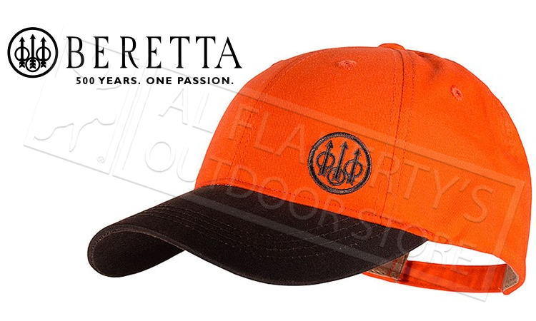 Beretta Upland Trident Hat in Blaze Orange #BC541T15160850
