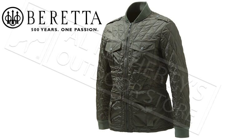 Beretta Tilia Quilted Field Jacket In Culture Green Sizes 50 54