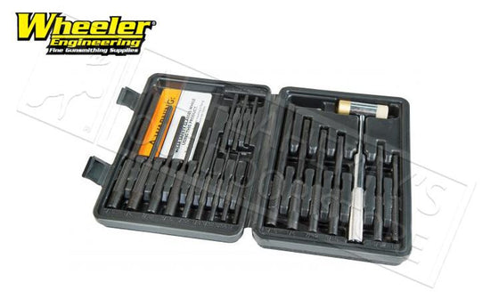 Wheeler Master Roll Pin Punch Set #110128