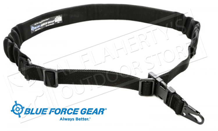 Blue Force Gear UDC Padded Bungee Single Point Sling with MASH Hook #UDC200BGMHK