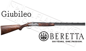 "Beretta Giubileo Over-Under Shotgun Engraved with Pheasants, 12 Gauge 3"" Chamber 28"" Barrel #3J76211500741"
