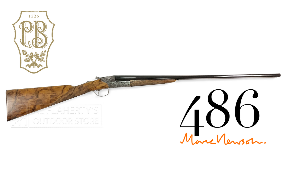 "Beretta 486 by Marc Newson, 28 Gauge, 28"" Barrel Side by Side Shotgun #5Y356BC4AAF10"