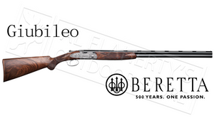 "Beretta Giubileo Over-Under Shotgun Engraved with Ducks, 12 Gauge 3"" Chamber 28"" Barrel #3J76211500741"