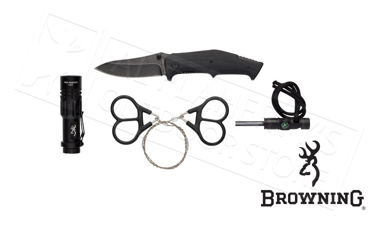 Browning 4 Piece Survival Kit #3220288