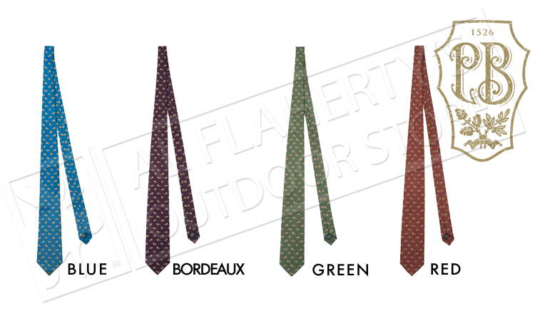 Beretta Fox Tie in Silk #CR121T1379