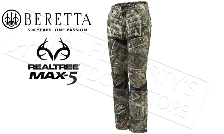 Beretta Fusion BIS Primaloft Pants in Realtree Max5 Camo, Sizes L-2XL #CU452T14040858