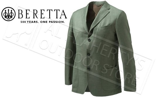 Beretta Olive Jacket, Sizes 54-56 Italian #GU932T1303079A