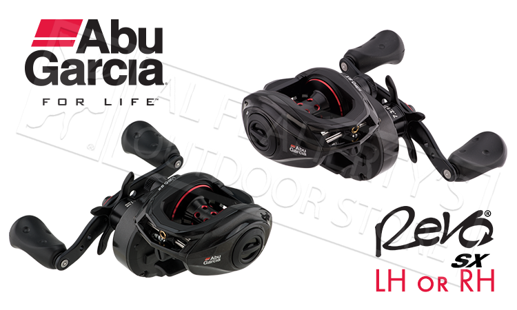 Abu Garcia Revo SX Baitcasting Reels, Right or Left Handed #REVO4SX
