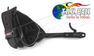 T.R.U. Ball Archery Stinger Caliper Release, Rated to 100lbs, Black with Super Stinger Buckle #TSBR-BK-L