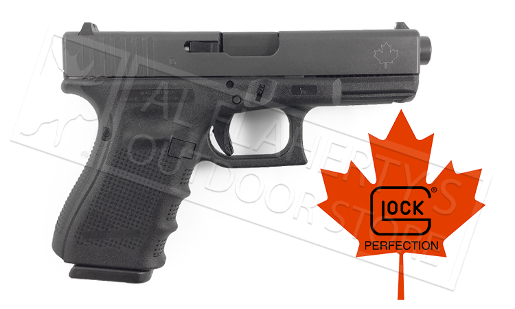 Glock 19 Gen4 Canadian Edition 9mm with Factory Glock Barrel