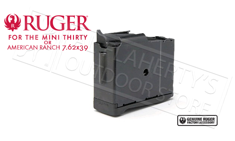 Ruger Mini Thirty 5-Round Magazine 7.62x39 #90012