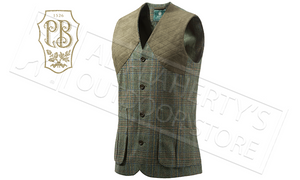 Beretta St James Vest in Green Check, Sizes M-2XL #GU752T07640796
