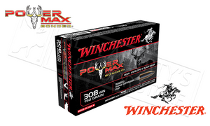 Winchester 308 WIN Power Max, Bonded HP 150 Grain Box of 20 #X3085BP