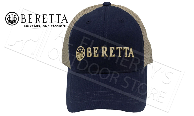 Beretta LP Trucker Hat in Navy Blue #BC05201660
