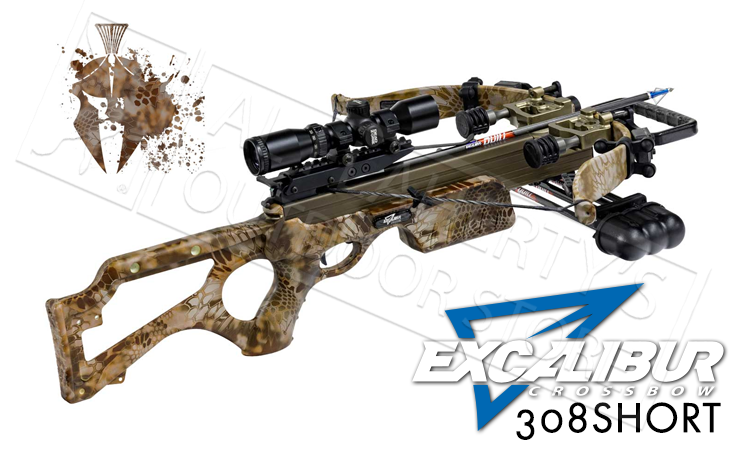 Excalibur Micro 308Short Banshee Crossbow Package in Kryptek Banshee Camo #E74076