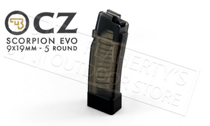CZ Scorpion EVO Magazine - 9mm 5-Round