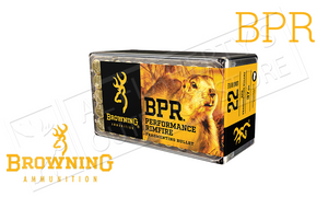 Browning 22LR BPR Hunting Ammunition, 37 Grain High Velocity Box of 50 #B194122050