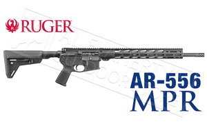 Ruger AR556 MPR Rifle in 5.56x45 #8521