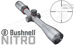 Bushnell Nitro Riflescope 5-20x44mm with Deploy MOA FFP Reticle #RN5204GF1