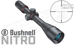 Bushnell Nitro Riflescope 6-24x50mm with Deploy MIL FFP Reticle #RN6245BF2