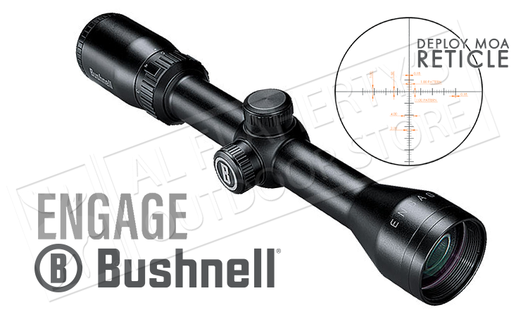 Bushnell Engage Scope 2-7x36mm with Deploy MOA Reticle #REN2736DW