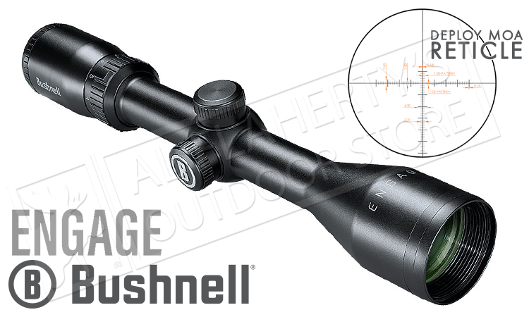 Bushnell Engage Scope 3-9x40mm with Deploy MOA Reticle #REN3940DW